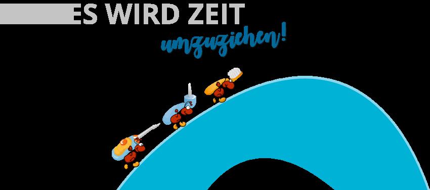 Umzug Zahnärzte Bruno Ratei und Florian Schönwälder